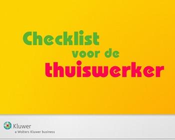 checklist thuiswerker