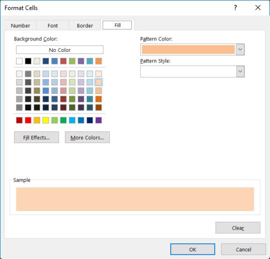 Conditional formatting pivot table colour