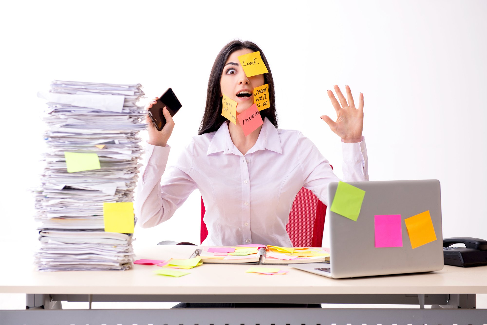 Prioriteiten stellen is de sleutel tot overleven van de management assistant