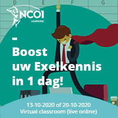 Excel Experience Day - oktober 2020