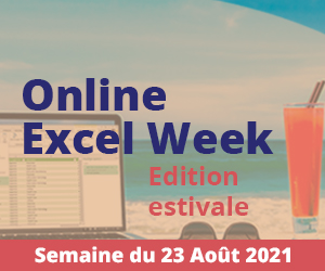 Online Excel Week : Edition estivale