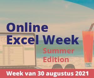 Online Excel Week Summer Edition